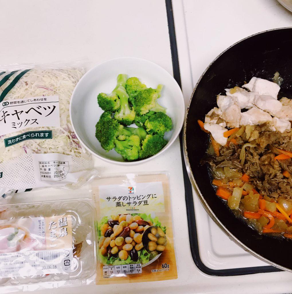 吉野家風ライザップ牛サラダの材料