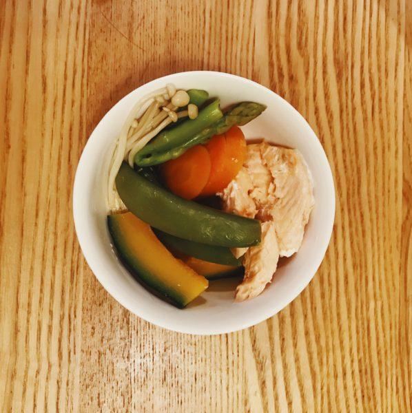 温野菜 鮭